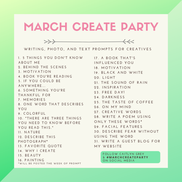 Website March Create